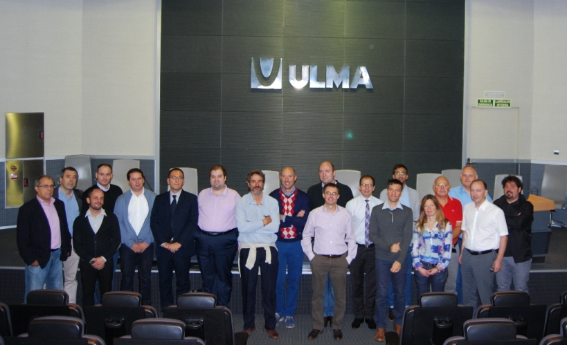 T-REX sixth general meeting organised by ULMA at Oñati (Spain, 22-23th September 2015)