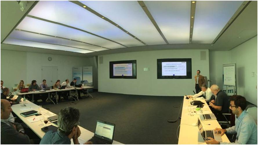 T-REX first-year general meeting organised by Fraunhofer IAO at Stuttgart (Germany, 14-15th October 2014)